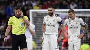 Laga antara Real Madrid melawan Ajax.(goal.com)