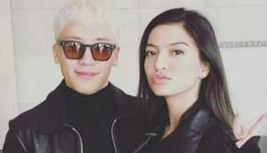 Seungri dan Raline Shah.(instagram.com /raline_shah)