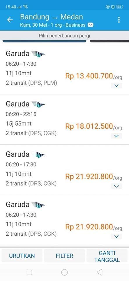 Heboh Harga Tiket Pesawat Seharga Motor Baru Makassar Terkini