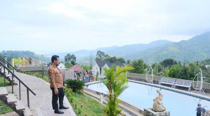 Wakil Gubernur Sulsel Puji Arsitektur Wisata Kambo Highland Palopo Makassar Terkini