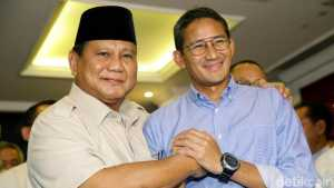 Prabowo Sandi, Prabowo, Sandiaga Uno