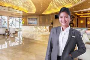 Tyta Ripal, Front Office Manager Harper Perintis by Aston Makassar.(ist)