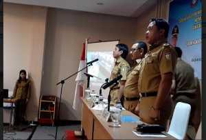 Sekretaris Badan Kesatuan Bangsa dan Politik (Kesbangpol) Kota Makassar M. Iskandar Lewa