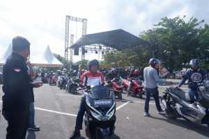 Jelajah Potensi Wisata, Bupati Ikut Touring Bareng Komunitas PCX di Bantaeng