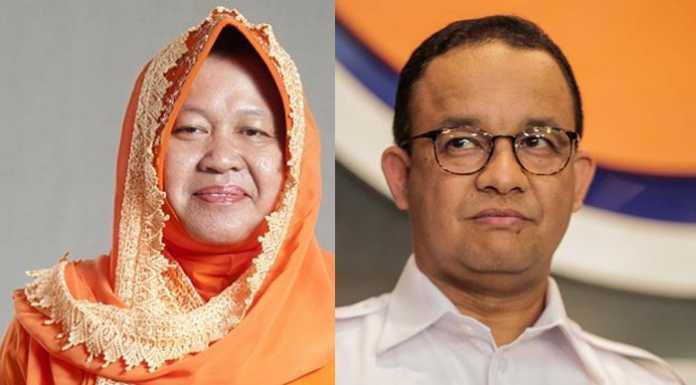 Risma Maju di Pilkada DKI Jakarta, Anies Bisa Keok - Makassar Terkini