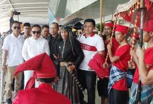 Syarifuddin Daeng Punna atau Sadap dijemput di Bandara Internasional Sultan Hasanuddin, Sabtu 2 September 2019 / Foto Terkini.id : Kamsah