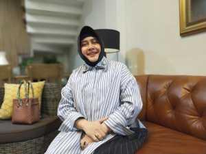 Indira Jusuf Ismail, istri dari mantan Walikota Makassar, Danny Pomanto
