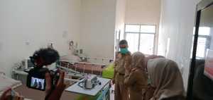Walikota Parepare Cek Ruang Kesiapan RSUD AM untuk Penanganan Virus Corona