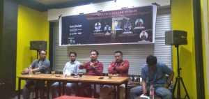 Himpunan Pemuda Pelajar Mahasiswa Indonesia (HPPMI) Maros Komisariat UNHAS-PNUP menggelar Dialog Publik di Warkop Juang, Jumat, 6 Maret 2020.
