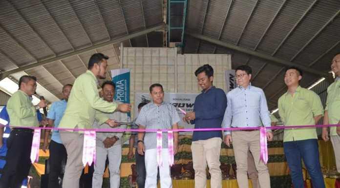 Peluncuran mesin pengering padi berbasis aplikasi