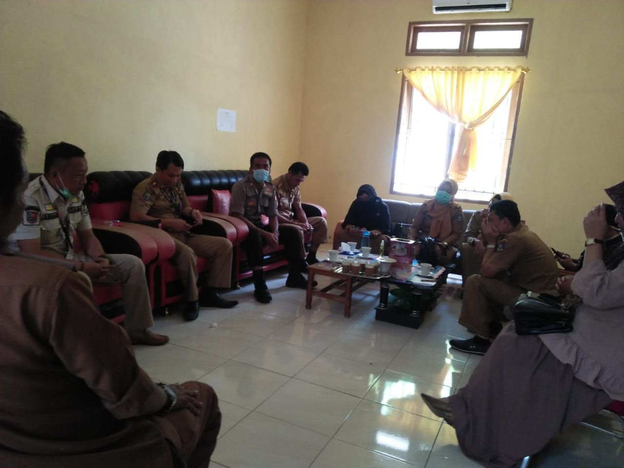 Di Ujung Bulu Terbentuk Posko Covid 19 Andi Gatot Cegah Perkumpulan Makassar Terkini