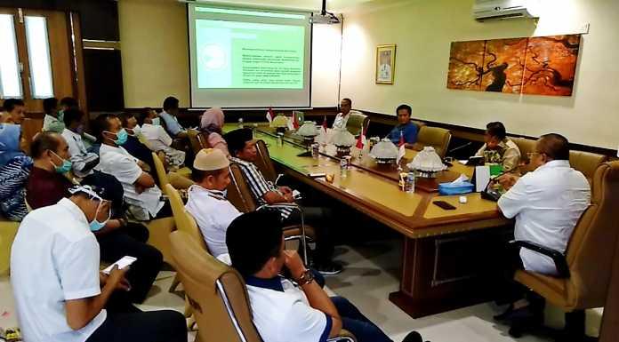 Pertemuan anggota DPRD Sulsel dari Dapil IV dengan Tim Gugus Tugas Penanganan pencegahan penyebaran Covid-19 Jeneponto/Syarief