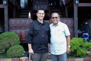 Ilham Arief Sirajuddin dan Muhammad Yusran Lalogau