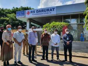 Siloam Makassar Bangun RS Darurat Penanganan COVID-19/ ist