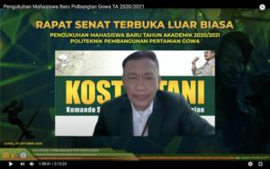 Direktur Polbangtan Gowa, Dr. Syaifuddin