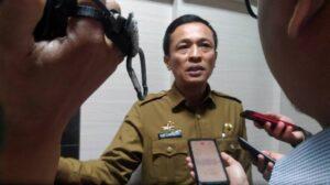 Penjabat Wali Kota Makasssar Rudy Djamaluddin