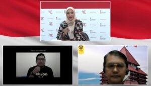 Dialog Produktif dengan tema Naik Kelas UMKM Lewat Digitalisasi/Syarief