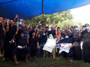 Silaturahmi dan sosialisasi visi misi di Desa Bonto Baji, Kecamatan KajangKamis 19 November 2020.