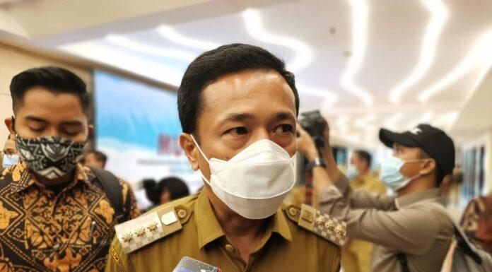 Penjabat Wali Kota Makassar Rudy Djamaluddin.