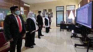 5 Pejabat Struktural Polbangtan Gowa Beralih Menjadi Tenaga Fungsional