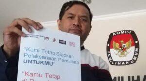 Koordinator Divisi Tekhnis Penyelenggara KPU Makassar, Gunawan Mashar
