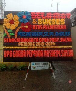 Ucapan Karangan Bunga dari DPD Garda Pemuda Nasdem Sinjai