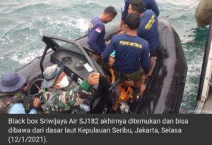 Kotak hitam Sriwijaya Air