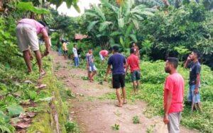 IPMW Kupang dan Pemuda Melakukan pembersihan fasilitas umum