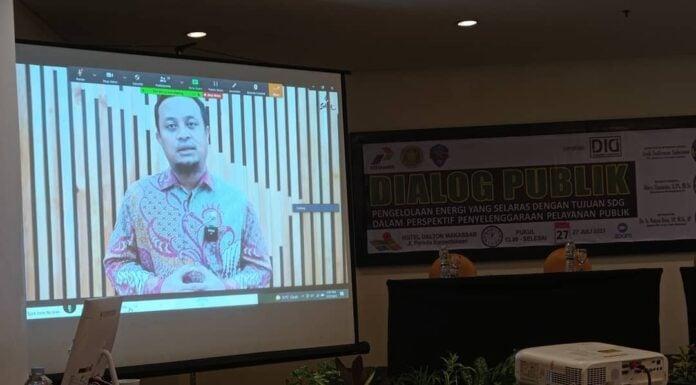 Plt Gubernur Sulawesi Selatan Membuka Dialog Publik (koleksi Dosen Insan Cita)