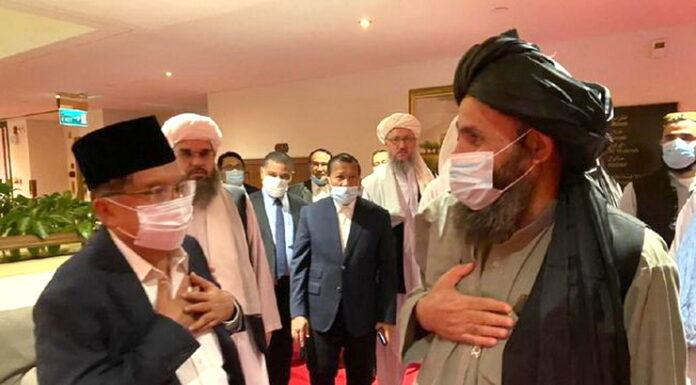Sempat Bertemu Jusuf Kalla, Taliban: Kami Jamin Tak Usik Keamanan KBRI